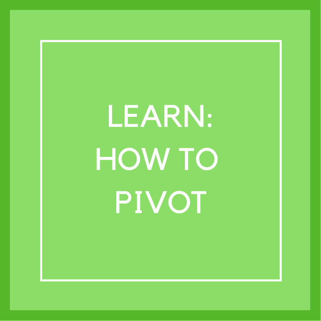 P12 Box 1 learn how to pivot