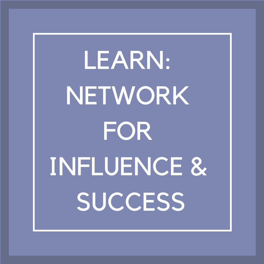 P12 Box 5 lean network for influence & success